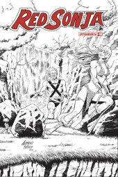 Red Sonja #18 1:50 Pepoy Seduction B&W Incentive