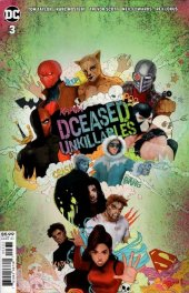DCeased: Unkillables #3 Movie Homage Card Stock Variant Edition