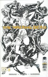 The Walking Dead #94 Image Expo Sketch Variant