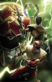 Mighty Morphin Power Rangers #48 Jolzar Collectibles Exclusive Clayton Crain Variant