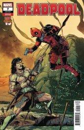 Deadpool #7 Laming Conan vs Marvel Variant