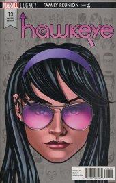 Hawkeye #13 Mike McKone Headshot Variant
