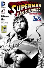 Superman Unchained #1 SDCC 2013 B&W Variant