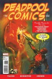 Deadpool #36 75th Anniversary Photobomb Variant