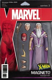 Uncanny X-Men #4 Christopher Action Figure Variant