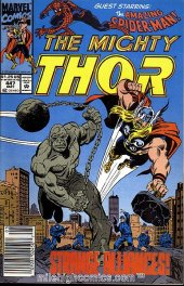 The Mighty Thor #447 Newsstand Edition