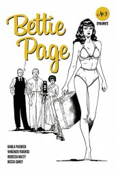 Bettie Page #3 1:20 Peeples Homages B&W