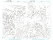 Detective Comics #1000 Dynamic Forces Exclusive Dan Jurgens & Kevin Nowlan Ultra Limited Sketch Pure Pencil Variant