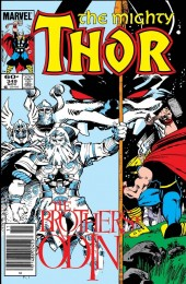 The Mighty Thor #349 Newsstand Edition