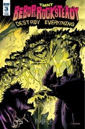 TMNT: Bebop & Rocksteady Destroy Everything #3 Subscription Variant