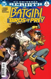 Batgirl and the Birds of Prey #6 Variant Edition