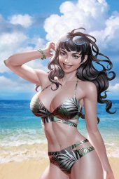 Bettie Page #3 Yoon Limited Virgin Variant