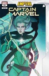 Captain Marvel #21 Frison Empyre Variant