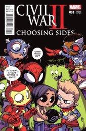 Civil War II: Choosing Sides #1 Skottie Young Variant
