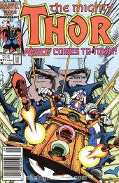 The Mighty Thor #371 Newsstand Edition