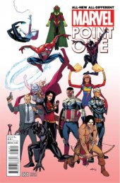 All-New All-Different Marvel Point One #1 Marquez A Variant