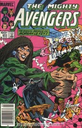 The Avengers #241 Newsstand Edition