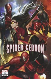 Spider-Geddon #5 In-Hyuk Lee Connecting Variant
