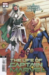 The Life of Captain Marvel #3 2nd Printing Carlos Pacheco Variant