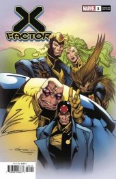 X-Factor #1 1:100 Stroman Hidden Gem Variant
