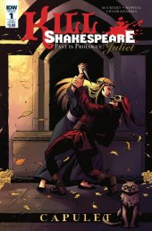 Kill Shakespeare: Past Is Prologue Juliet #1 Subscription Variant