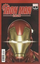 Iron Man 2020 #6 Superlog Heads Variant