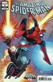 The Amazing Spider-Man #6 Renaud Cosmic Ghost Rider Vs. Variant
