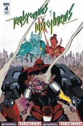 Transformers Vs. The Visionaries #4 Cover B Pizzari