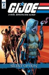 G.I. Joe: A Real American Hero - Silent Option #2 Original Cover