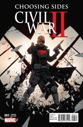 Civil War II: Choosing Sides #1 Shalvey and Bellaire Variant