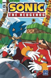 Sonic the Hedgehog #34 Cover B Peppers