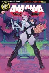 Amalgama Space Zombie #3 Cover E Stanley