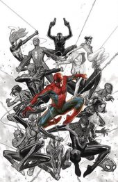 Spider-Geddon #1 Molina NYCC Previews Exclusive Variant