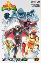 Mighty Morphin Power Rangers #31 Surprise Comics Exclusive Variant