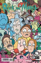 Rick and Morty #60 Cover B Starks