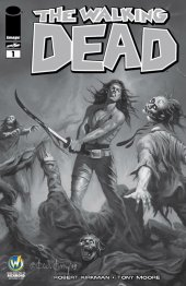 The Walking Dead #1 Wizard World Comic Con Richmond VIP Exclusive Sketch Variant