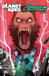 planet of the apes / green lantern #4