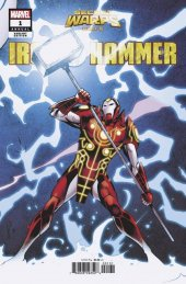 secret warps: iron hammer annual #1 carlos pacheco connecting variant