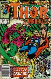 The Mighty Thor #405 Newsstand Edition