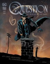 the question: the deaths of vic sage #1 cover b lemire