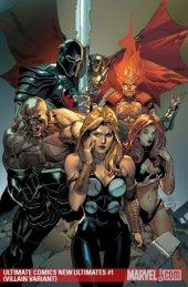 Ultimate Comics New Ultimates #1 Villain Variant