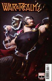 War of the Realms #1 1:25 Hugo Thor Variant