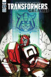 Transformers: Galaxies #6 Cover B McGuire-Smith