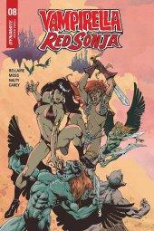 Vampirella / Red Sonja #8 FOC Variant