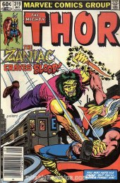 The Mighty Thor #319 Newsstand Edition