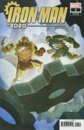 Iron Man 2020 #2 1:25 Del Mundo Variant