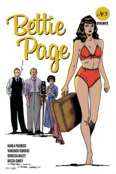 Bettie Page #3 1:7 Peeples Homage Cover