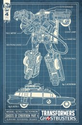 Transformers / Ghostbusters #4 1:10 Incentive Variant