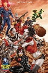 Justice League vs. Suicide Squad #1 Midtown Comics Mark Brooks Color Variant Part 2