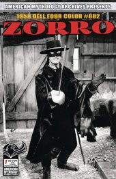 Am Archives Zorro: 1958 Dell Four Color #882 #1 Limited Edition B&W TV Photo Cover